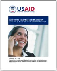Corporate Governance Survey 2003 - 2004 Macedonia